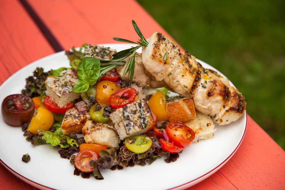 Rosemary Chicken Skewers from Fresh Market Dinners