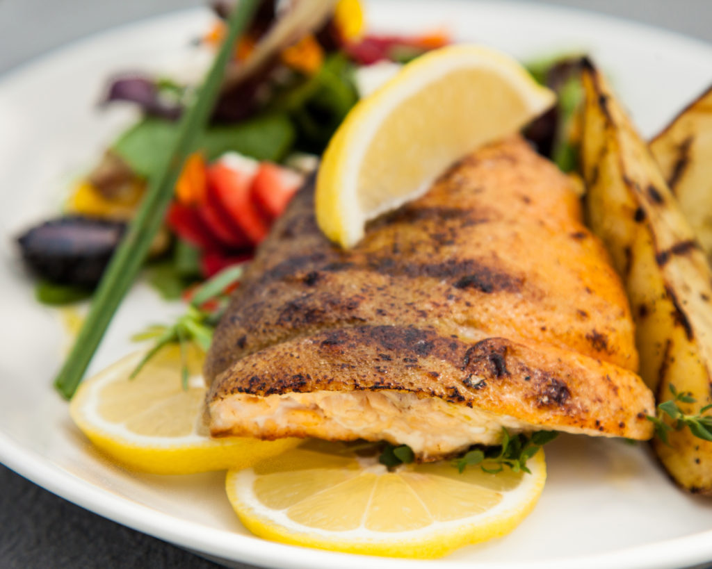 Herb-Stuffed Arctic Char from Watts on the Grill