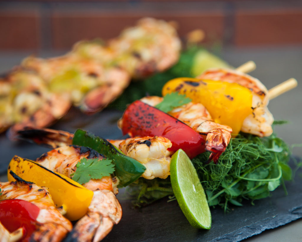 Mango Habanero Grilled Shrimp from Watts on the Grill