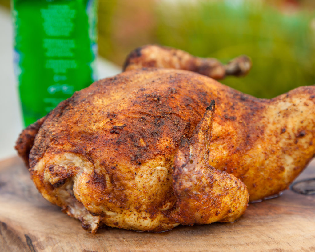 Spicy Beer Can Chicken