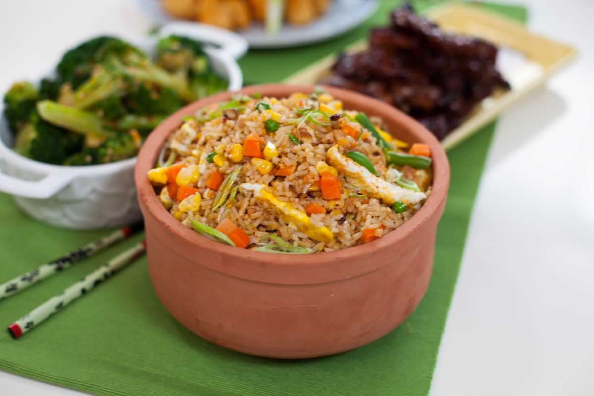 Veggie Fried Rice from Spencer's BIG 30