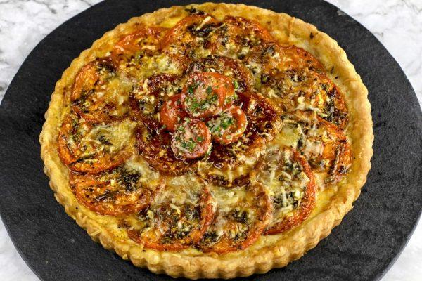 Provençal Tomato Tarte
