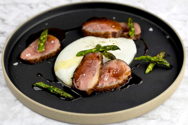 Maple Duck Breast With Rosemary