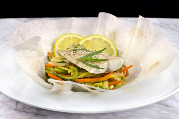 Striped Bass En Papillote