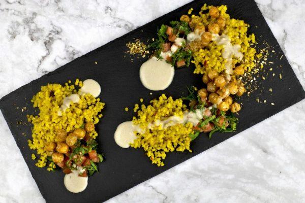 Millet Chickpea Salad
