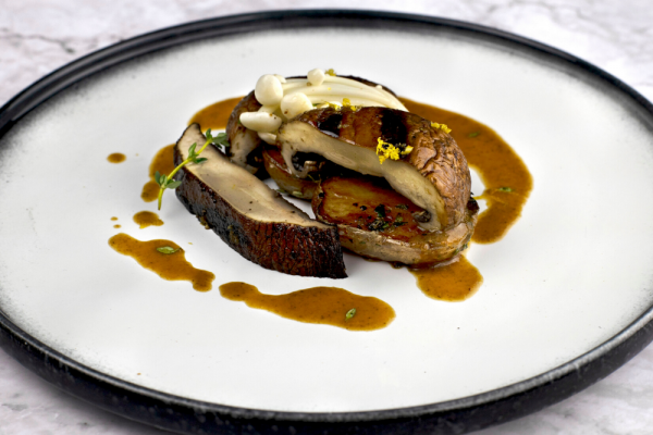 Portabella Steak With Porcini Demi-Glace