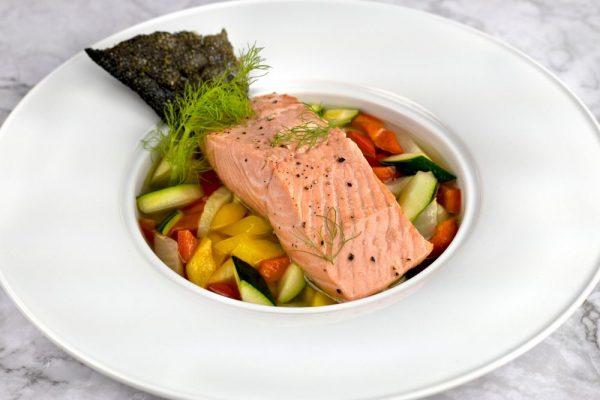 Salmon A La Nage