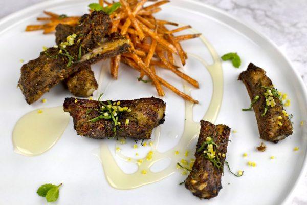 Lamb Ribs With Sweet Potatoes
