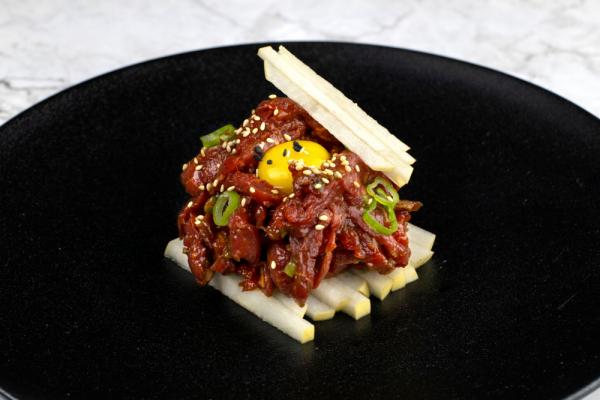 Korean Beef Tartare (Yukhoe)