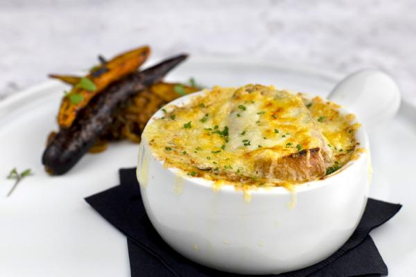French Onion Soup Gratiné