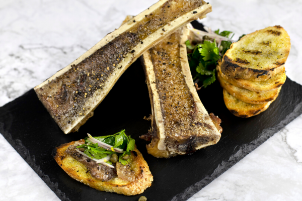 Marrow Bones With Parsley Salad