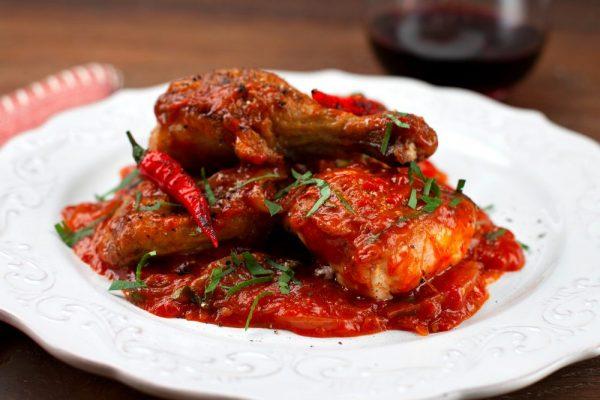 Spicy Chicken Stew (Pollo Alla Potentina)