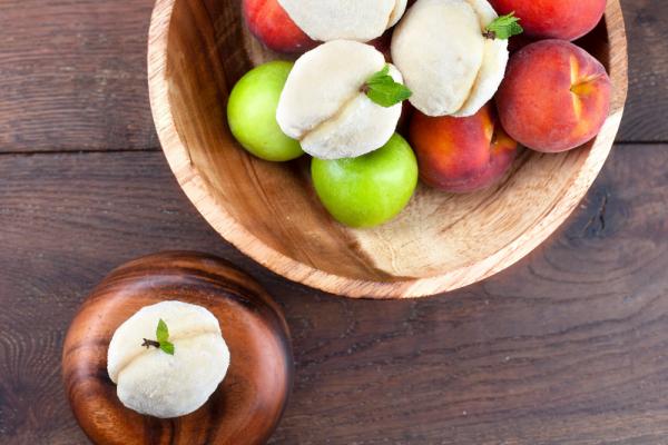 Peaches And Cream Cookies (Pesche Con Crema)