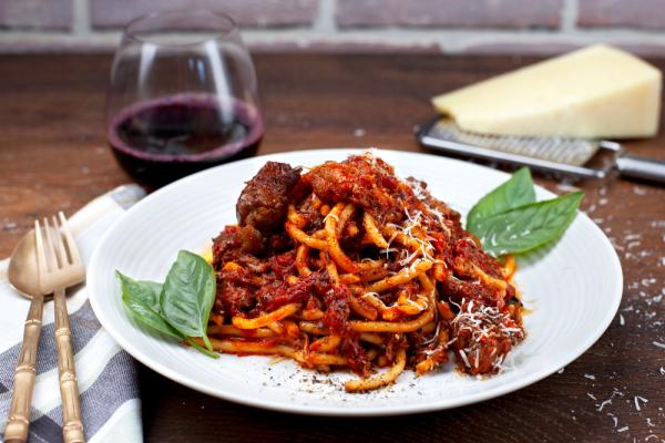 Lamb Ragu On Noodles (Pici Al Ragù Di Agnello)