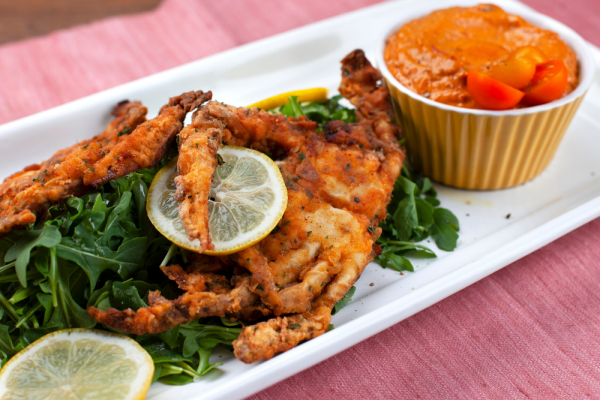 Fried Soft-Shell Crab (Moeche Fritte)