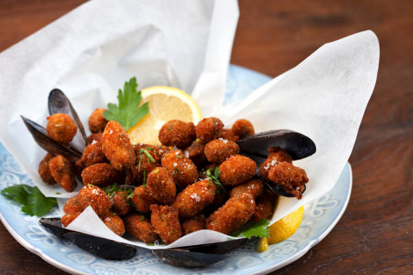 Fried Mussels (Cozze Fritte)
