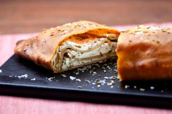 Folded Flatbread With Ricotta & Fennel Seeds (Scacce Ragusane)