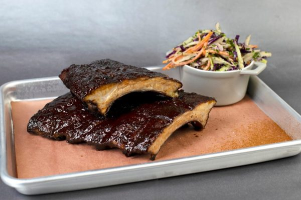 Cocoa-Rubbed Baby Back Ribs