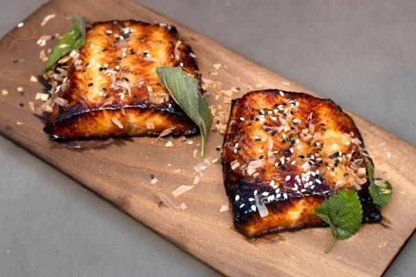 Cedar Plank Sable Fish