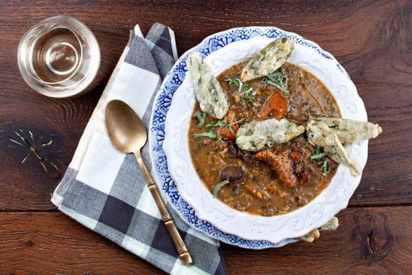Many Mushroom Soup (Zuppa Di Funghi)
