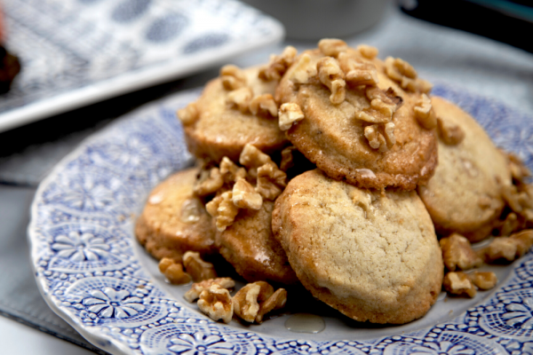 Walnut Baklava Cookies