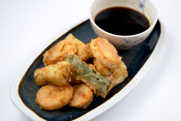Sweet Potato And Zucchini Tempura