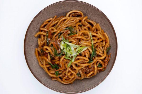 Veggie Udon Noodles