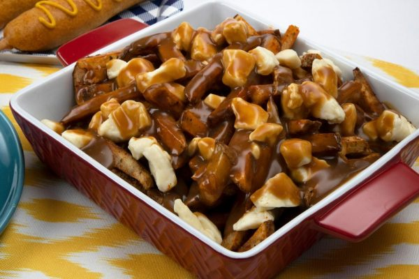 Oven Baked Poutine