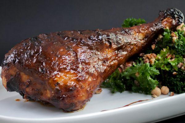 AIFA_2036_Robert_Tea and Bourbon-Brined Turkey Leg and Kale Salad_horizontal_1