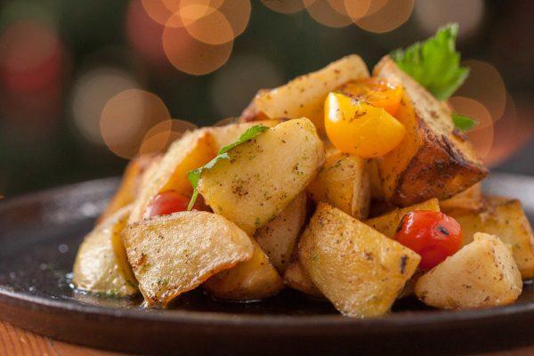 lamb fat roasted potatoes