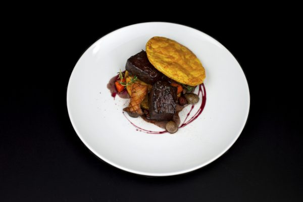 Jamaican Beef Bourguignon Patty from DNA Dinners