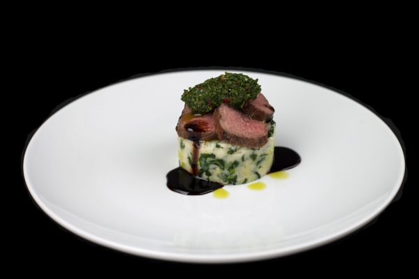 Stout-Glazed Lamb and Corn Colcannon from DNA Dinners