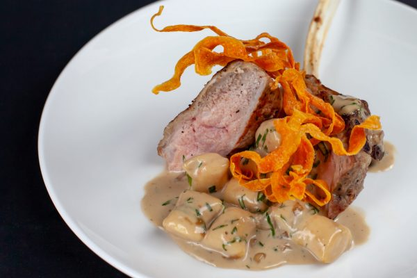 Veal Chops with Neeps and Tatties Gnocchi from DNA Dinners