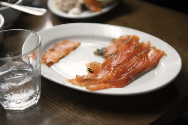 Cured Salmon from DNA Dinners