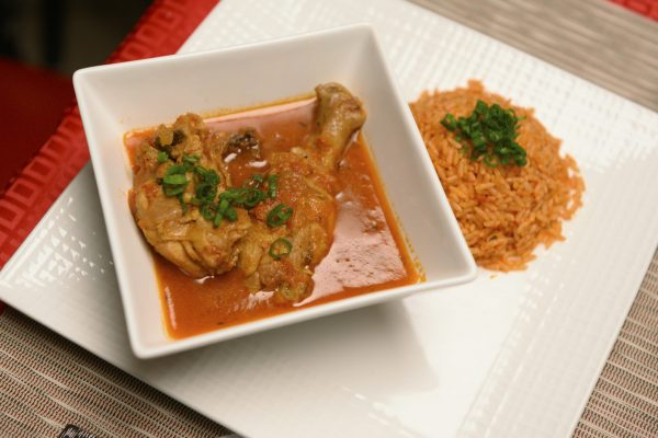 Jollof Rice with Nigerian Chicken Stew from DNA Dinners