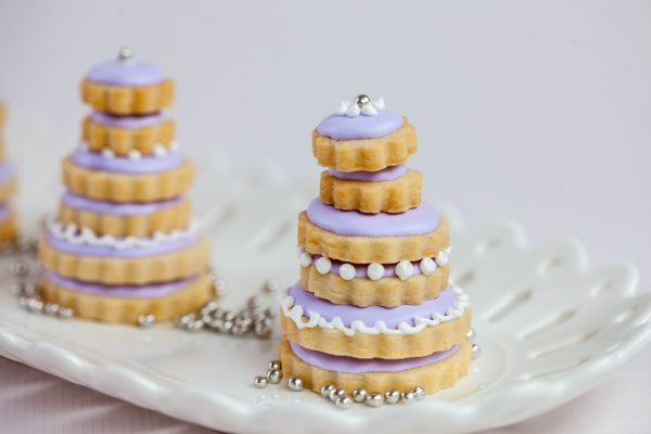 Almond Wedding Cookie Cakes from Flour Power