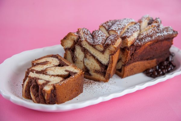 Chocolate Ricotta Babka from Flour Power
