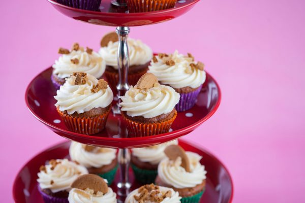 Spiced Tomato Soup Cupcakes