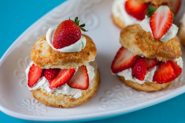 Strawberry Shortcakes from Flour Power
