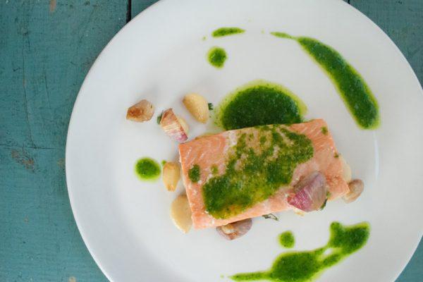 |slow baked coho salmon|