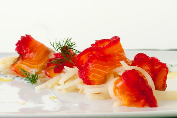 FTD_2018_Beet and Dill Gravlax with Yogurt Chive Dressing and Cold Potato Noodles_horizontal_ver 1