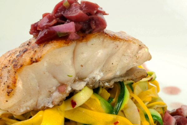 FTD_2027_Grouper with Sour Cherry Salsa and Rainbow Zucchini Noodles_horizontal_ver 1