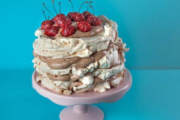 Flour Power_1005_Chocolate-sparkle Cherry Pavlova_horizontal_1