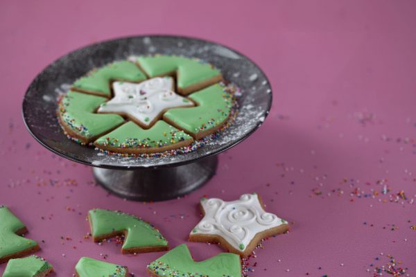 Puzzle Cookies from Flour Power Christmas: Edible Gifts