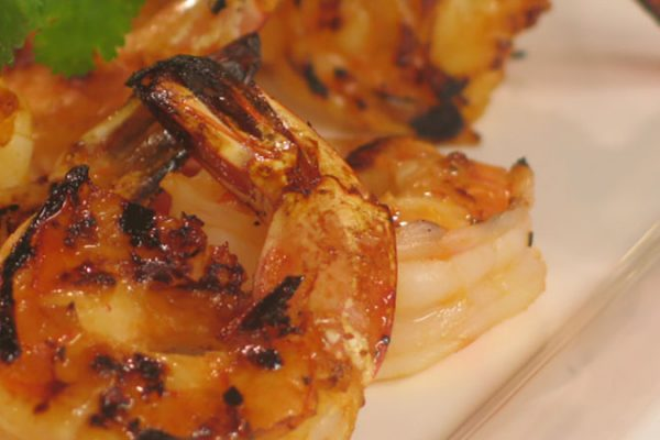 Honey Lime Marinated Shrimp