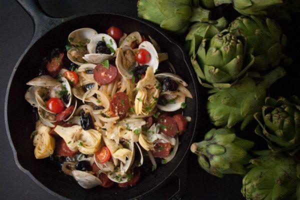 |Artichoke clams