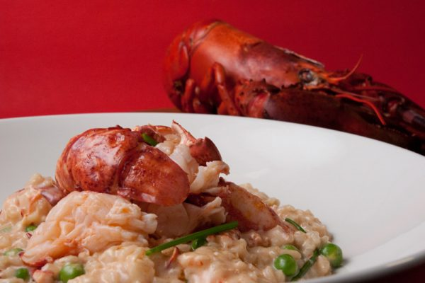 |Lobster champagne risotto