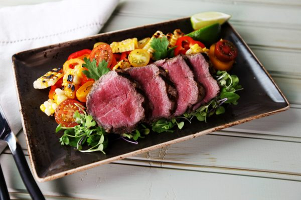 Latin Kitchen_1001_Lomito Steak with Grilled Corn Salad_horizontal_1