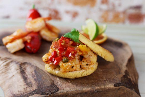 Latin Kitchen_1002_Arepas de Camarones_horizontal_2