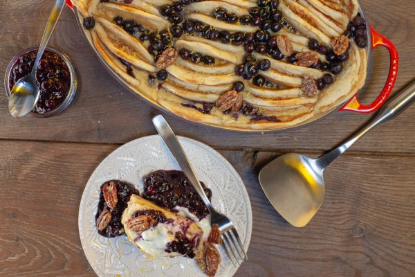Overnight Pancake Casserole from Let's Brunch